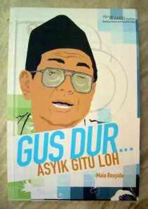 Salah satu buku tentang Gus Dur