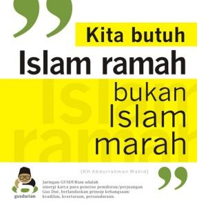 stiker islam ramah